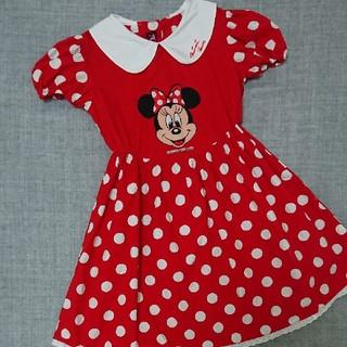 Disney - Disney ミニー ワンピ 120