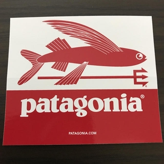 パタゴニア(patagonia)の【縦7.6cm横8.9cm】patagonia 公式ステッカー(その他)