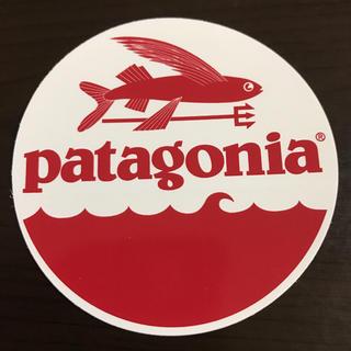 パタゴニア(patagonia)の【直径7.7cm 】patagonia 公式ステッカー(その他)