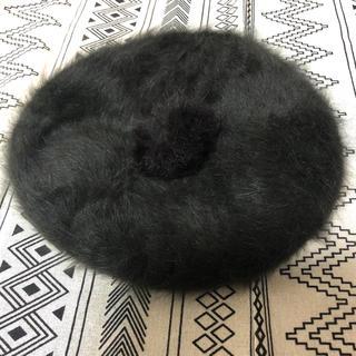 リズリサ(LIZ LISA)のリズリサ ファー ベレー帽 ブラウン(ハンチング/ベレー帽)