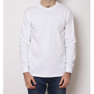GILDAN 6.0オンス ウルトラコットン 無地 ロングTシャツ  ホワイト(Tシャツ/カットソー(七分/長袖))