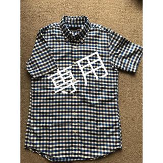 ヴァンヂャケット(VAN Jacket)のVAN/⑱半袖BDシャツ(M)/ブルー&ネイビーチェック(シャツ)