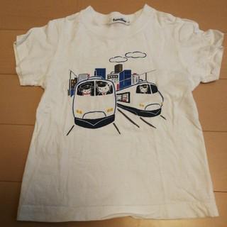 familiar - ファミリア 電車 シャツ 110