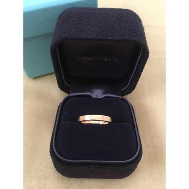 Tiffany & Co.(ティファニー)のティファニー ノーツナロー バンド リング レディースのアクセサリー(リング(指輪))の商品写真