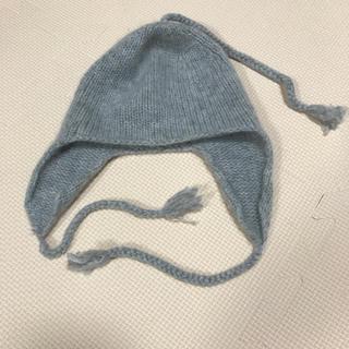 Bonpoint - ニット帽 ボンポワン 2 グレー  帽子