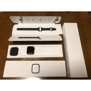 アップルウォッチ(Apple Watch)の【ケア有り】Apple Watch Series 4 セルラーモデル 44mm(腕時計(デジタル))