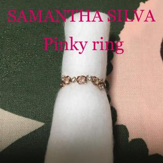 サマンサシルヴァ(Samantha Silva)のサマンサシルヴァ ピンキーリング 指輪 4号 ピンクゴールド K7(リング(指輪))