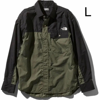 THE NORTH FACE - 新品 ノースフェイス Nuptse Shirt  ロングスリーブヌプシシャツ L