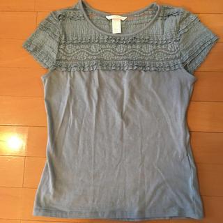 エイチアンドエム(H&M)の試着のみ  H&M エイチアンドエム  Tシャツ カットソー トップス レース(Tシャツ(半袖/袖なし))