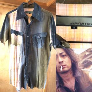 アユイテ(AYUITE)のクローズZERO II 芹沢多摩雄 山田孝之 AYUITEシャツサイズ3アユイテ(シャツ)