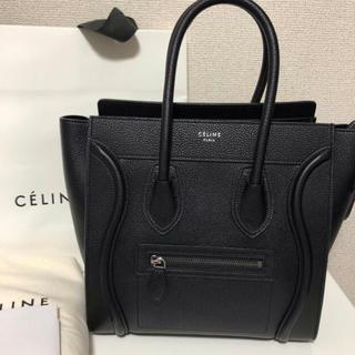 celine - CELINE ラゲージミニ ブラック 美品