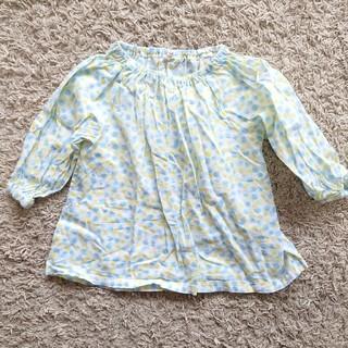 サマンサモスモス(SM2)のSAMANSA MOS2 LAGOM 水玉スモッグ 100cm(Tシャツ/カットソー)