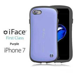 iFace iPhone7/8ケース パープル 耐衝撃人気 スマホ 薄型 Fir