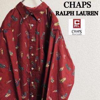 Ralph Lauren - Used CHAPS RALPH LAUREN 総柄 オーバーサイズシャツ