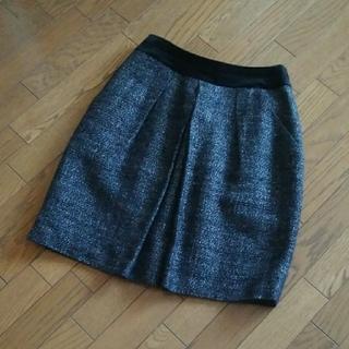 ニジュウサンク(23区)の23区 ツイードスカート(ひざ丈スカート)