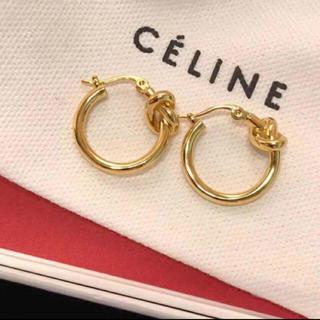 celine - celine ノットピアス