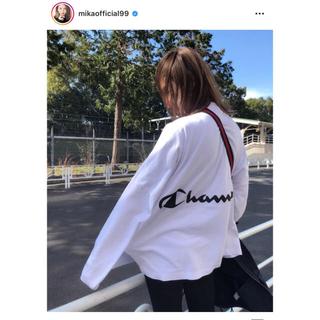 FRAY I.D - FRAY I.D ×チャンピオン バックプリントロングTシャツ