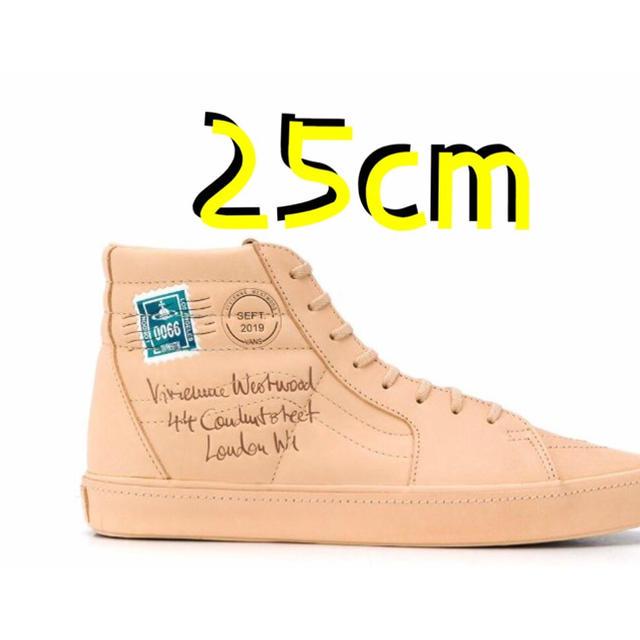 Vivienne Westwood(ヴィヴィアンウエストウッド)のヴァンズ ヴィヴィアン ウエストウッド SK8-HI 25cm レディースの靴/シューズ(スニーカー)の商品写真