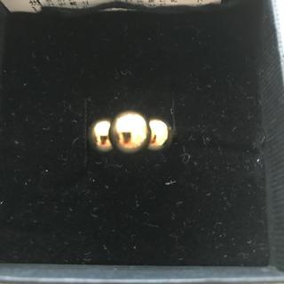 ジルサンダー(Jil Sander)のjil sanderのゴールドボールリング(リング(指輪))