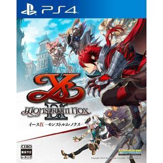 PlayStation4 - 新品・イースIX - Monstrum NOX - 通常版 PS4