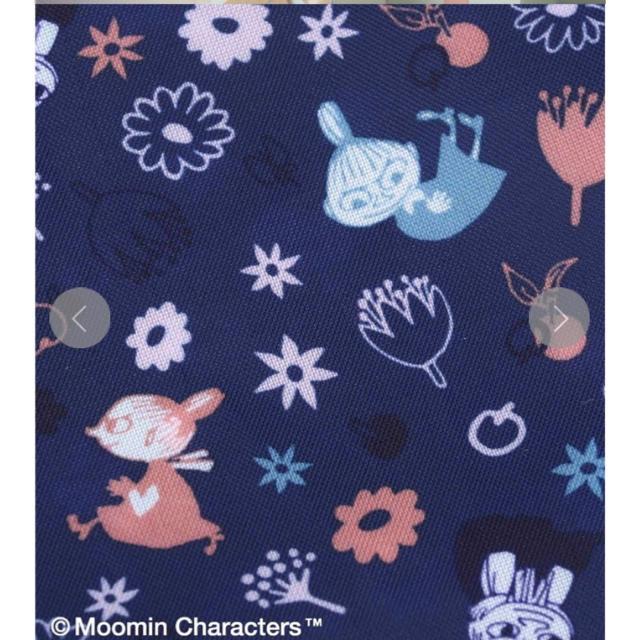 AfternoonTea(アフタヌーンティー)のMoomin×Afternoon Tea/ショッピングバッグ ブルー レディースのバッグ(エコバッグ)の商品写真
