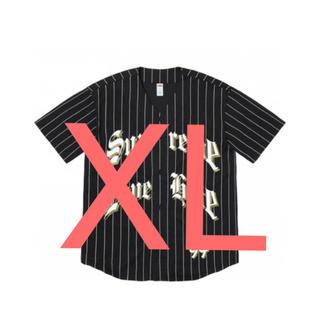 Supreme - supreme Love Hate Baseball Jersey