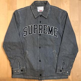 Supreme - supreme デニムコーチジャケット