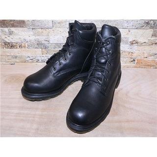 レッドウィング(REDWING)の日本未発売 ビックサイズ レッドウイング プレーントゥワークブーツ 黒 30cm(ブーツ)