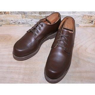 レッドウィング(REDWING)のレッドウイング オックスフォードシューズ ガレージマン 茶 2929,5cm(ブーツ)