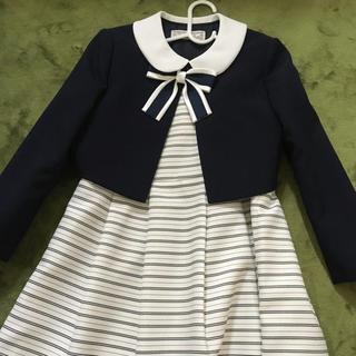 入学式 卒業式 スーツ 女の子 120サイズ