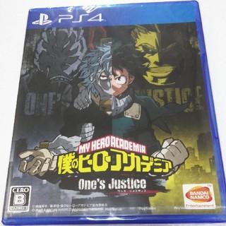 僕のヒーローアカデミア One's Justice 新品 未開封