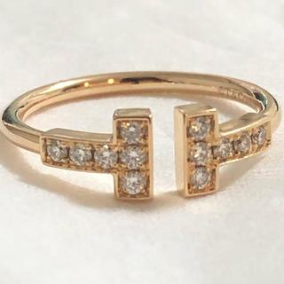 ティファニー(Tiffany & Co.)のTIFFANY&Co. Tワイヤーダイヤリング(リング(指輪))