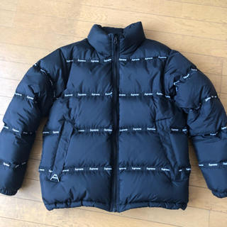 Supreme - 値下げ交渉OK Supreme Logo tape puffy jacket