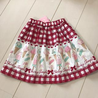 Shirley Temple - シャーリーテンプル アイスバー スカート 120 アイス