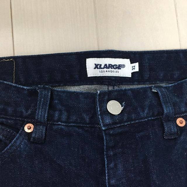 XLARGE(エクストララージ)のx-large ブルーデニム サイズ32 メンズのパンツ(デニム/ジーンズ)の商品写真