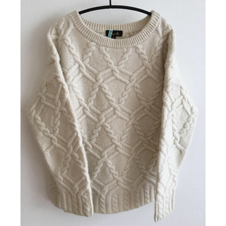 Drawer - 本日のみお値下げ❣️Drawer アランニット セーター