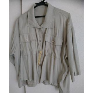 しまむら - フロントボタン ショートジャケット シャツ