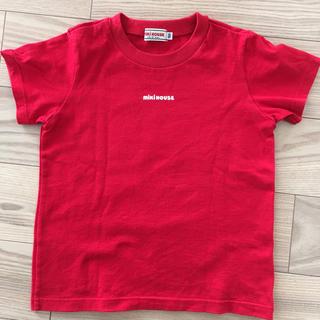 mikihouse - 【中古品】ミキハウス半袖 Tシャツ 赤