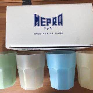 イデー(IDEE)のMEPRA クワトロカップ・送料込(グラス/カップ)