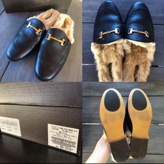 ドゥーズィエムクラス(DEUXIEME CLASSE)のカミナンドCAMINANDO BIT FUR DEUXIEME CLASSE(ローファー/革靴)
