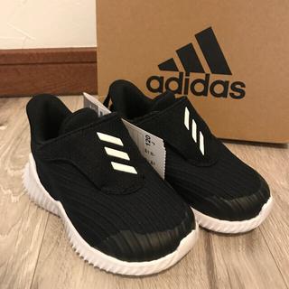 adidas - 新品 アディダス スニーカー 12cm フォルタラン ブラック