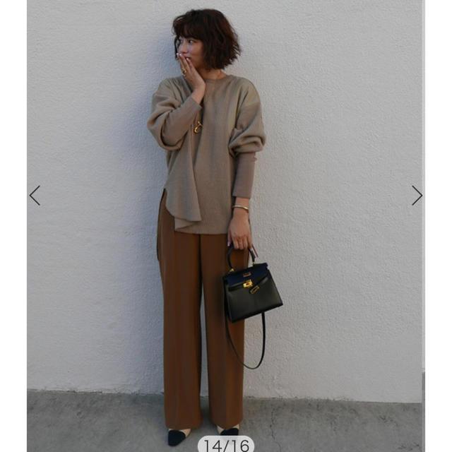 etre tokyo  ストレッチワイドパンツ 新品 レディースのパンツ(その他)の商品写真