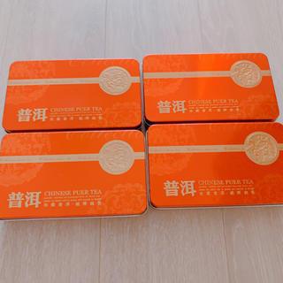中国茶 プーアル茶 4箱
