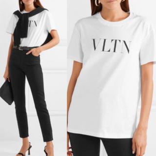 RED VALENTINO - バレンティノ ロゴTシャツ ホワイト サイズS