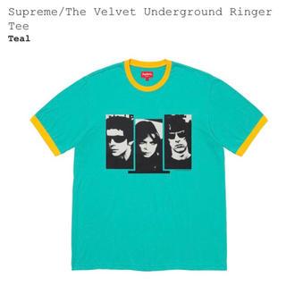 Supreme - supreme Velvet Underground Ringer Tee