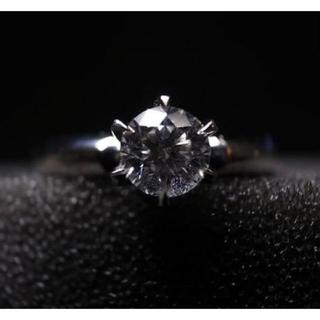 ヨンドシー(4℃)の4°C プラチナダイヤモンドリング  0.353ct 鑑定書付(リング(指輪))