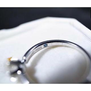 ヨンドシー(4℃)の4°C プラチナ ダイヤモンドリング 確認用(リング(指輪))