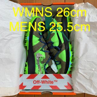 ナイキ(NIKE)のNIKE ZOOM TERRA KIGER 5 グリーン W26/25.5(スニーカー)