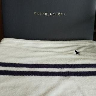Ralph Lauren - RALPH LAUREN  ひざ掛け ハーフブランケット  新品 未使用  ♪
