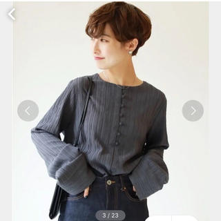 TODAYFUL - TODAYFUL クレープジョーゼットシャツ